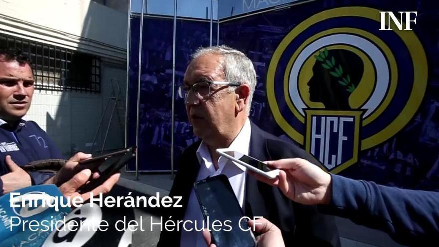 El Hércules pide el aplazamiento en lugar de jugar a puerta cerrada