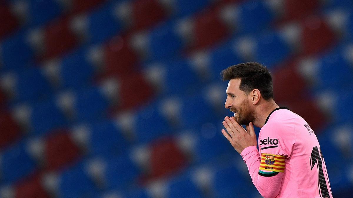 La estrella del FC Barcelona Leo Messi