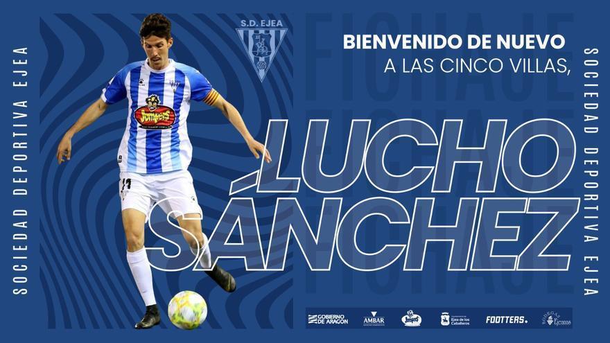 Lucho Sanchez regresa a la SD Ejea