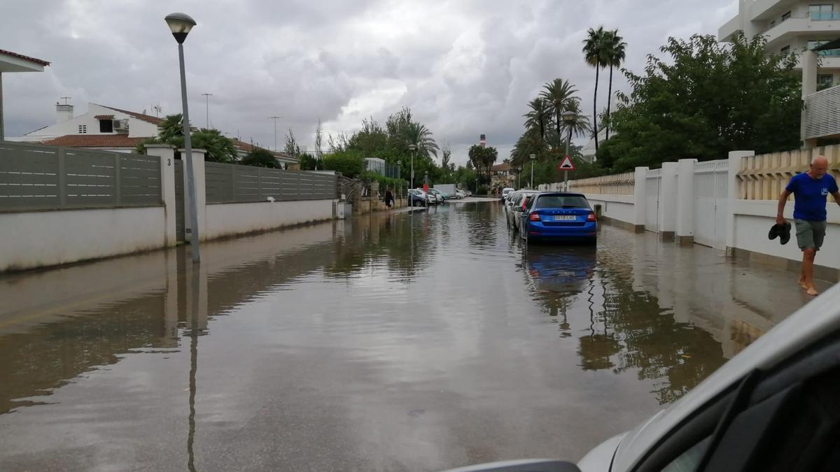 Las fuertes lluvias dejan ya 66 incidentes en el norte de Mallorca