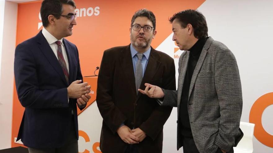 Ciudadanos frenará la aprobación del ARCA  en la Asamblea Regional