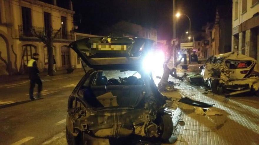Un conductor begut s'accidenta a Moià