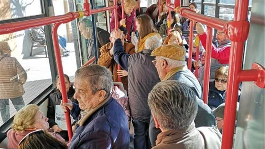 La gratuidad del autobús urbano de Ontinyent incrementa su utilización