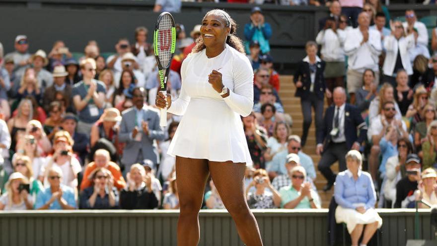 Serena Williams remunta i ja és a les semifinals