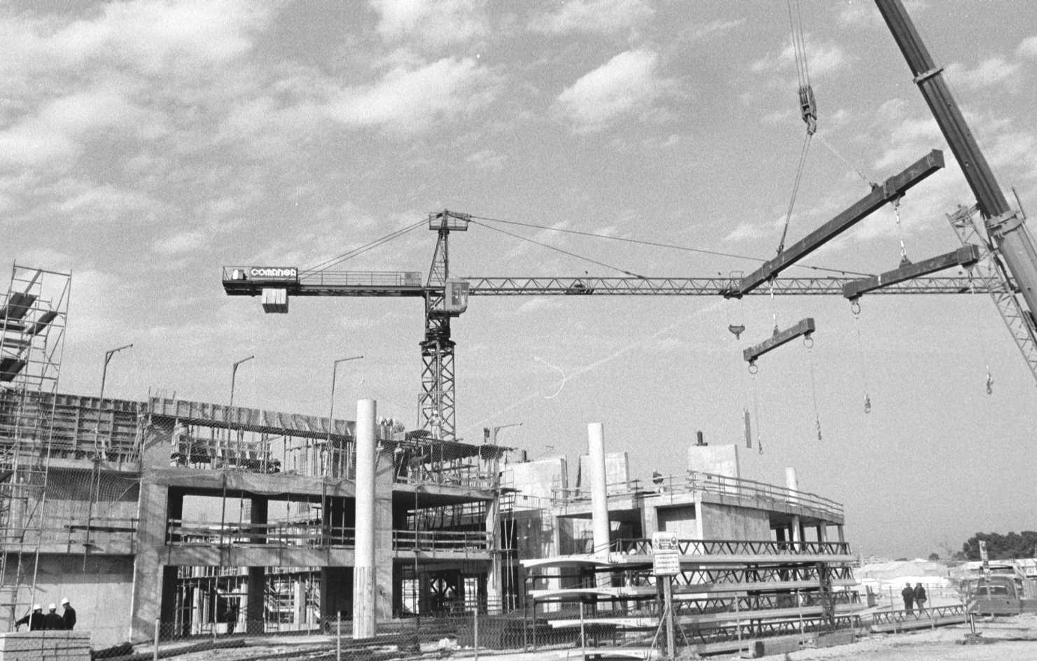 Historia gráfica de València: la construcción del Palacio de Congresos