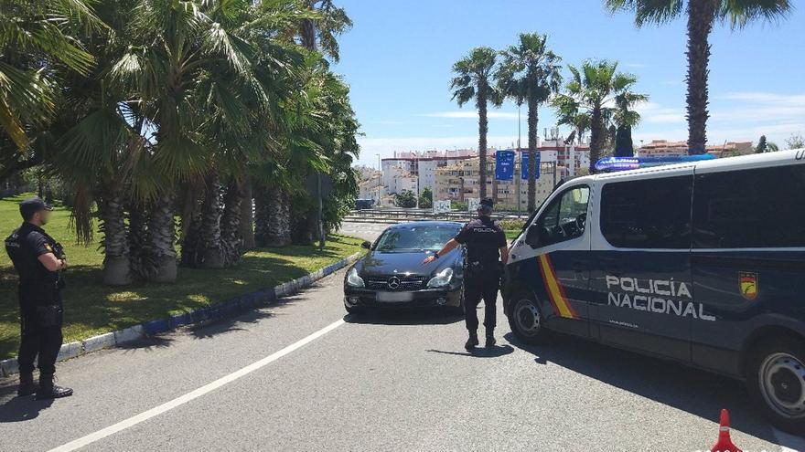 Detenido por conducir con documentación falsa tras perder la vigencia del permiso