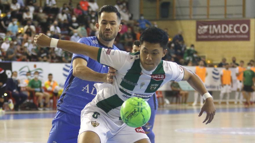 El Córdoba Futsal suma un valioso punto contra el Valdepeñas