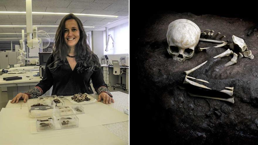 Una científica gallega identifica los restos de la tumba humana más antigua de África