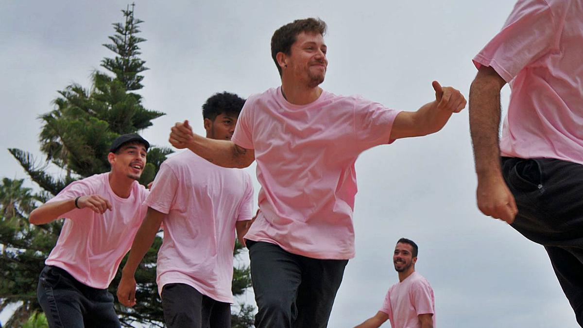 El grupo Street Dancerz Radio, que participó el año pasado en el campeonato de danzas urbanas.