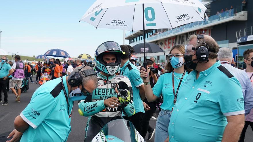 Dennis Foggia, ganador de Moto3 2021 en el circuito de Misano