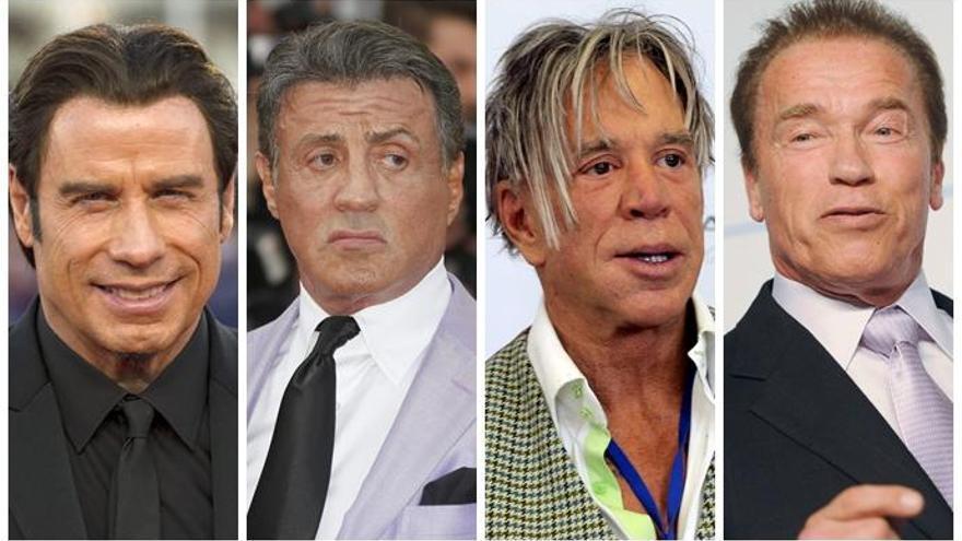 Seis actores de acción que no han sabido envejecer