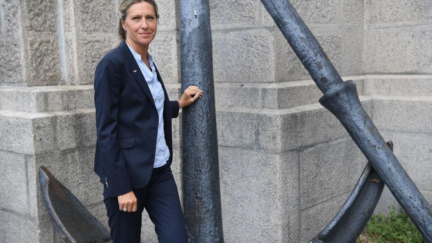 Mujeres que abren brecha en la Marina Mercante
