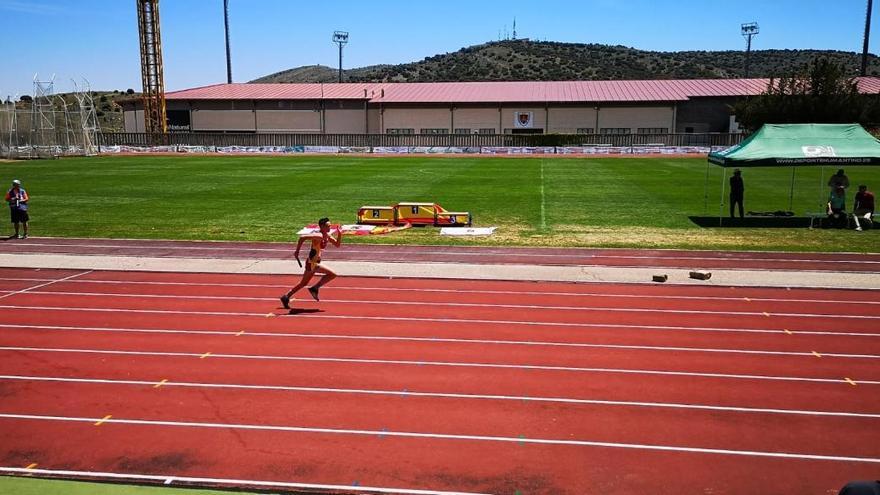 El saucano Noé Bermejo Almaráz participará en el Campeonato de España Sub-16 en lanzamiento de peso