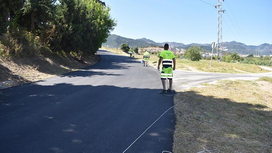 Alhaurín de la Torre invierte 200.000 euros en asfaltar ocho caminos rurales