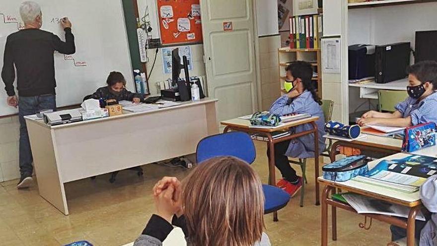Pinell veu perillar el futur de l'escola de Sant Climenç d'aquí a cinc anys