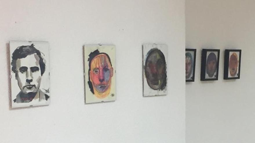 El artista cordobés Eduardo Parrac expone su obra 'Faces' en el marco del Proyecto Lunar