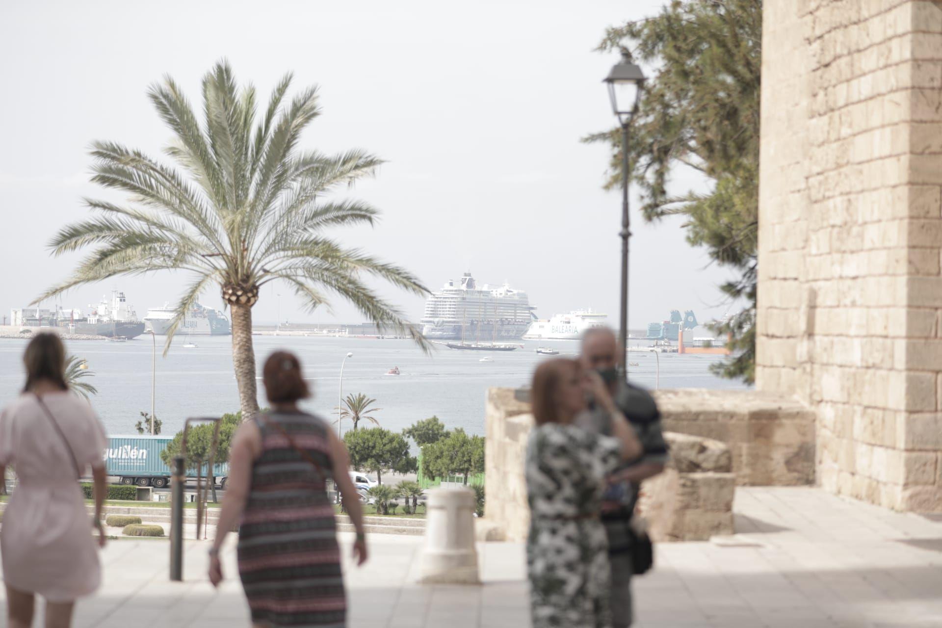 Vuelven los cruceristas a Palma