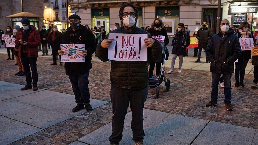La escuela concertada de Zamora vuelve este jueves a protestar contra la Ley Celaá