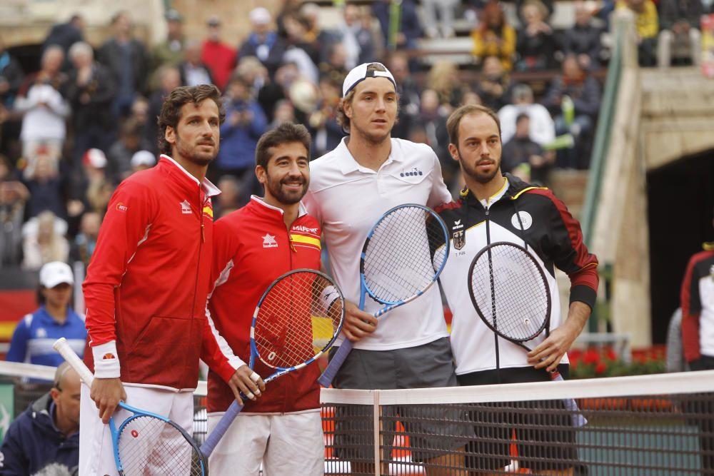 Partido de dobles España-Alemania