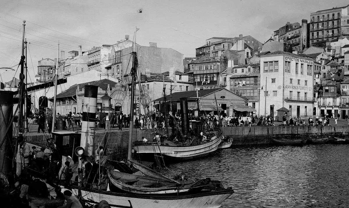 Dársena del Berbés 1920-1936
