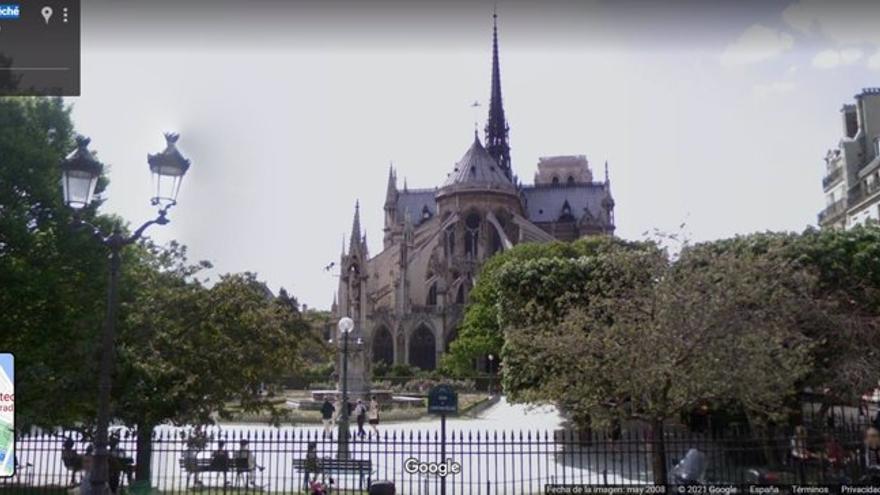 Google Street View, testigo del paso del tiempo
