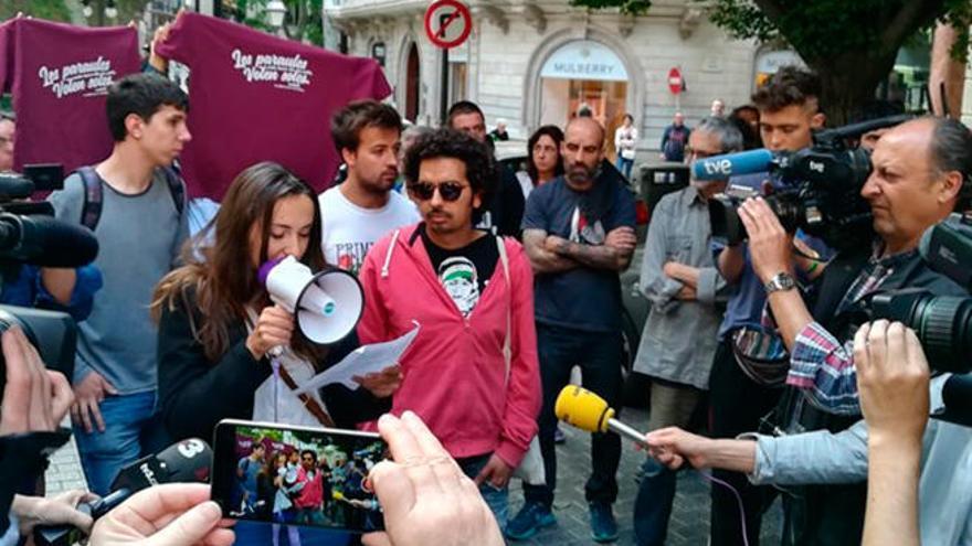"""Grupo de apoyo a Valtonyc: """"Ser independentista y de izquierdas se ha convertido en un delito"""""""