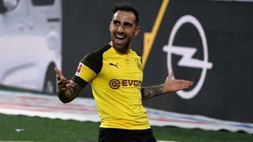 El Dortmund hace oficial el fichaje de Pablo Alcácer