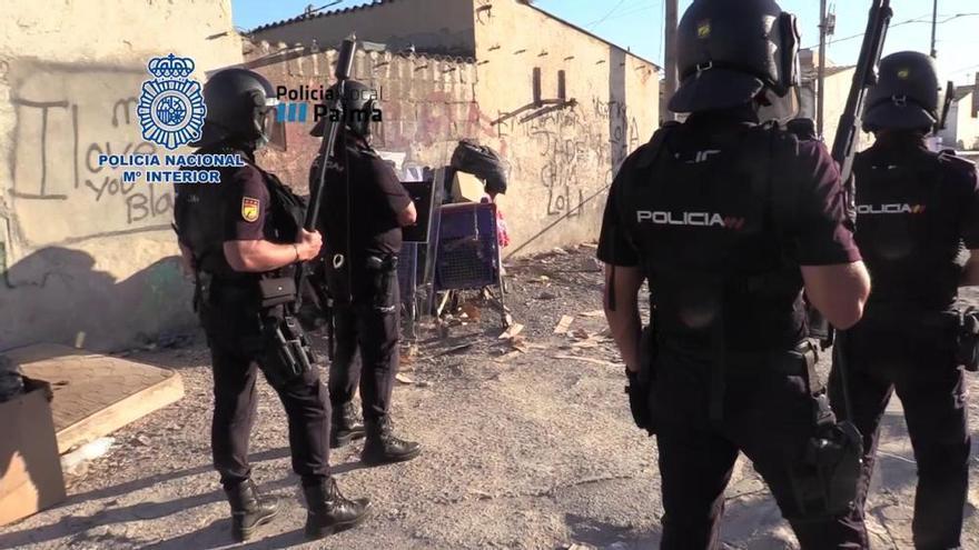 A disposición judicial 11 detenidos en la redada antidroga de Camp Redó