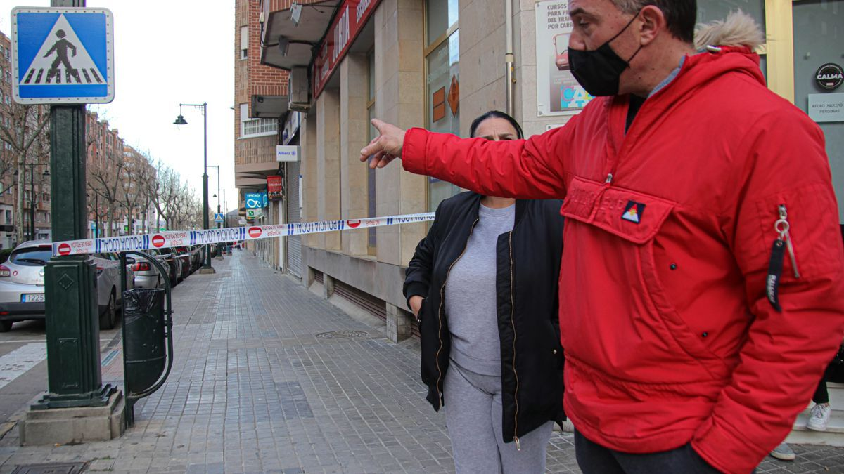 The images of the stabbing in Alcoy