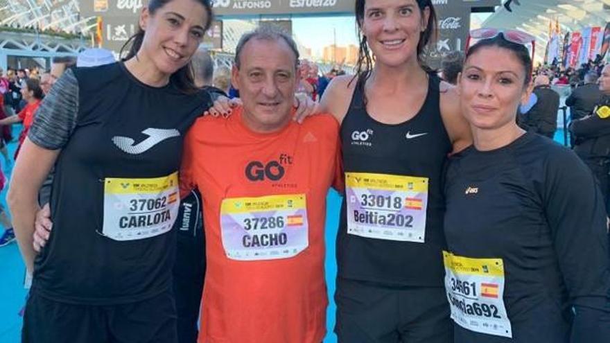 Exdeportistas famosos en el Maratón y el 10K de Valencia