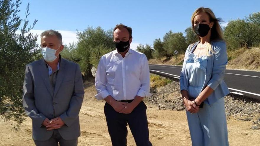 La Diputación arregla la CO-4103 que une Bujalance con Villa del Río