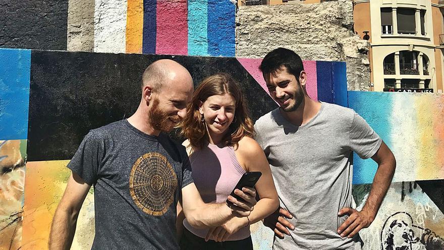 Una iniciativa bagenca  convida a fer jocs al carrer amb aplicacions de mòbil