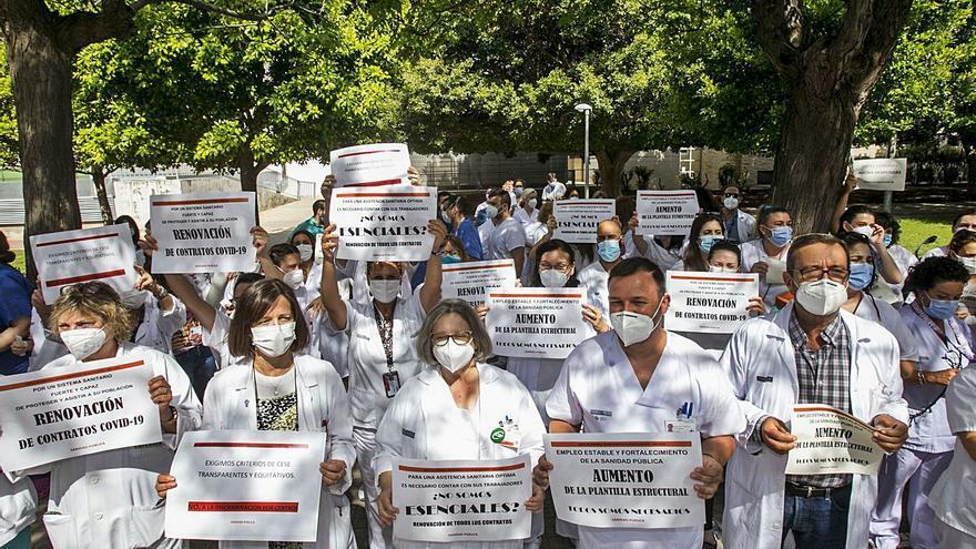 La Comunidad es la autonomía con más sanitarios contagiados durante la pandemia