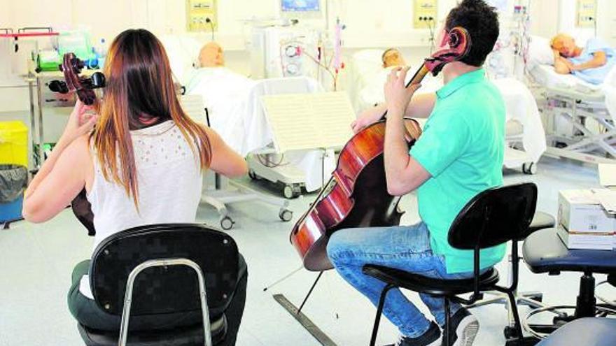Concert de Músicos por la Salud en el Hospital General de València. | GVA