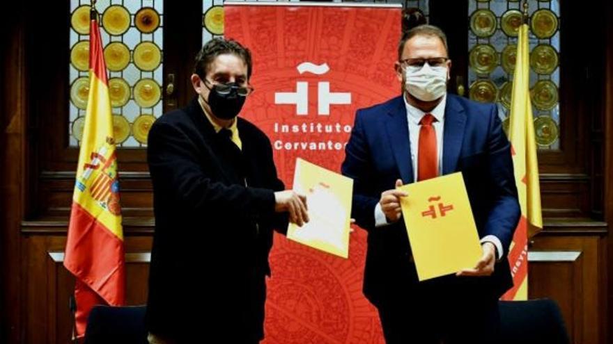 El Cervantes y el Grupo de Ciudades Patrimonio renuevan su alianza para la difusión internacional de la cultura