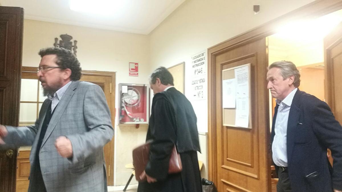 Tertsch al salir del juicio celebrado en Zamora