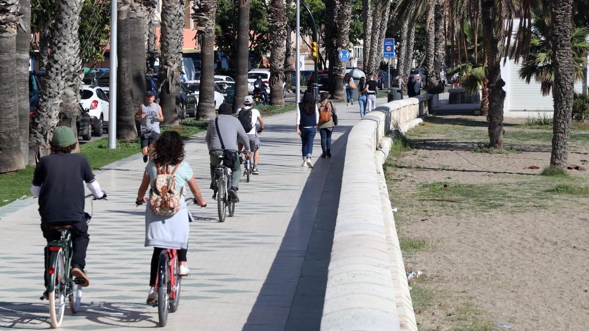 Málaga mantiene una tasa de incidencia de 130 casos por cada 100.000 habitantes