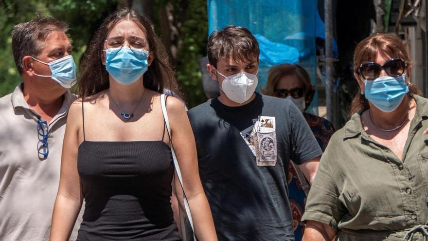 Coronavirus en Baleares: La quinta ola se desvanece y las islas vuelven a valores previos a la explosión de contagios