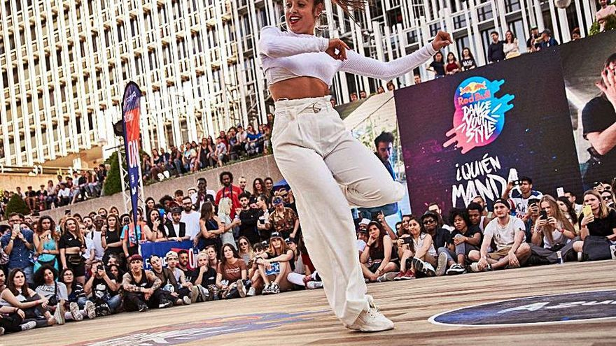 La semifinal del Red Bull Dance Your Style, en el Parc de la Mar