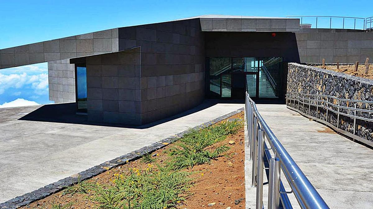 Centro de Visitantes del Roque de los Muchachos en La Palma.