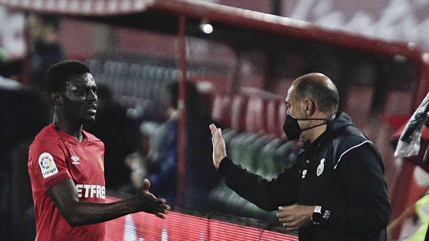 ...Y la cruz | Iddrisu Babano: se sintió cómodo en todo el partido