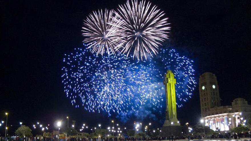 Santa Cruz elimina los fuegos artificiales con alto nivel sonoro y la traca final