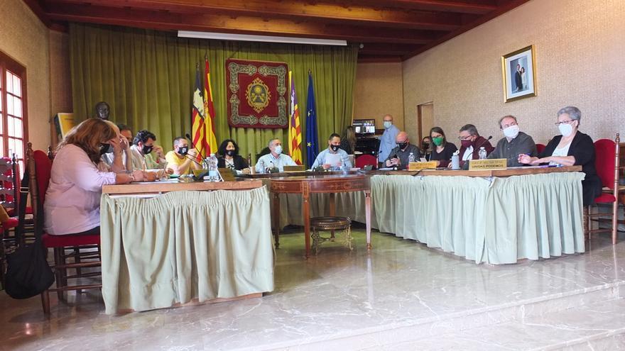 Declaración institucional para pedir más seguridad en una carretera de Sóller