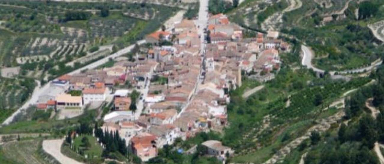 Vista aérea de Beniatjar