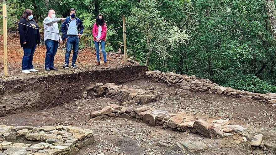 Finalizan los trabajos de excavación y consolidación del Castro de Cameixa