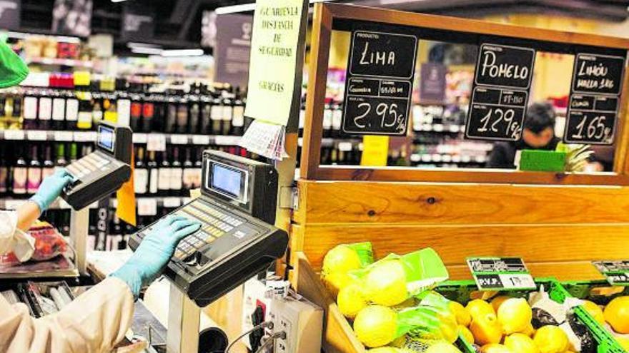 La OCU constata una subida de precios en  supermercados zamoranos por la pandemia