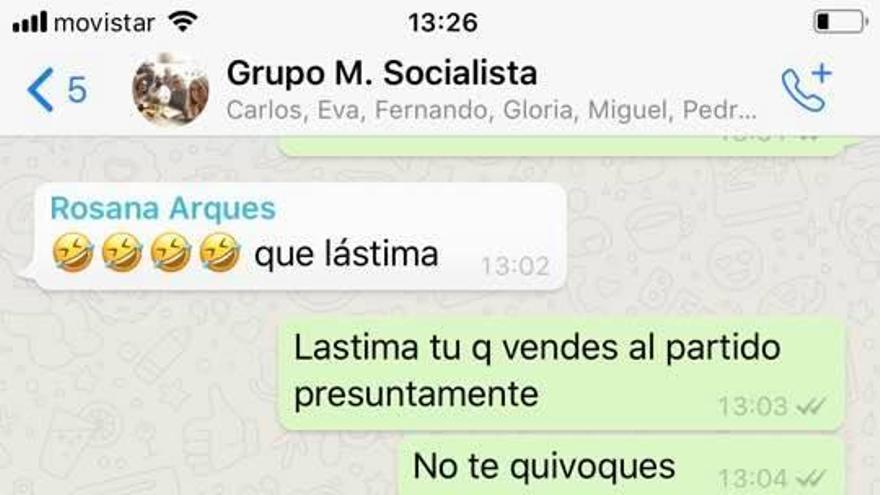 Bronca entre ediles socialistas de Alicante: «Cállate, presunta delincuente, vendes al partido»