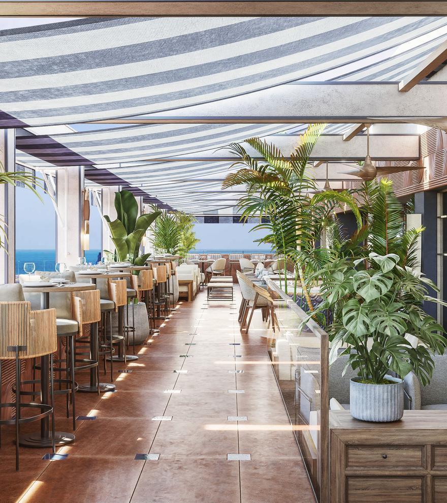 El hotel Only You Málaga abrirá sus puertas en La Equitativa el próximo 10 de octubre