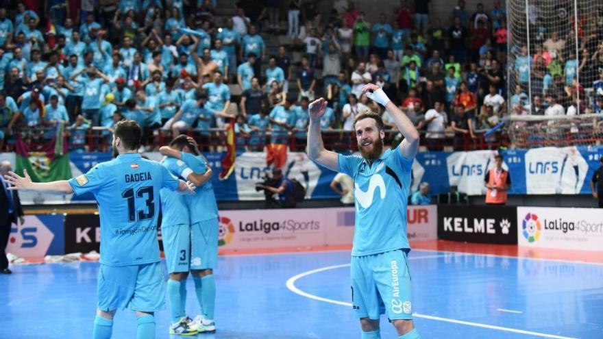 Movistar Inter logra su quinta Liga consecutiva