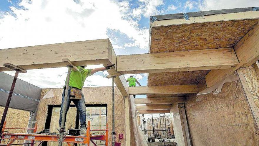 Un edificio «pionero» por su estructura modular de madera